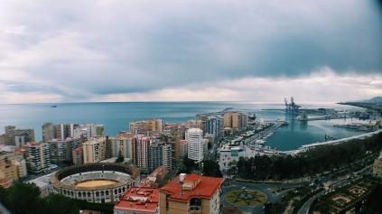 View from Gibralfaro