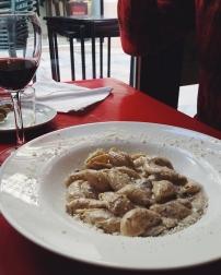 Mushroom, truffle sauce