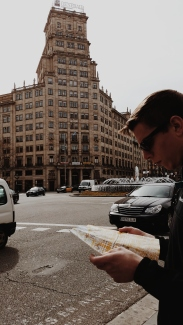 Lost in Barcelona (briefly)