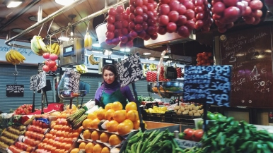 La Boqueria Outdoor market